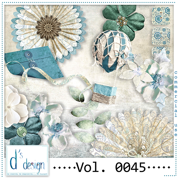 Vol. 0045 Elements Mix by Doudou Design