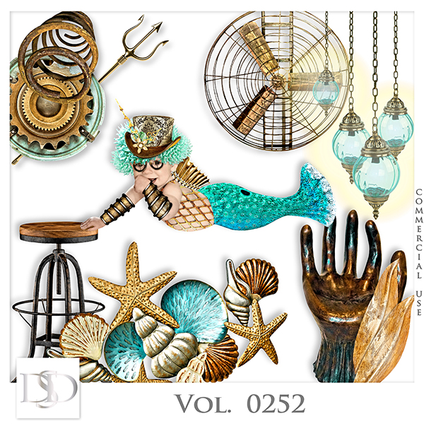 Vol. 0252 Steampunk Sea Mix by D's Design
