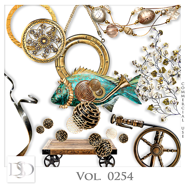 Vol. 0254 Steampunk Sea Mix by D's Design