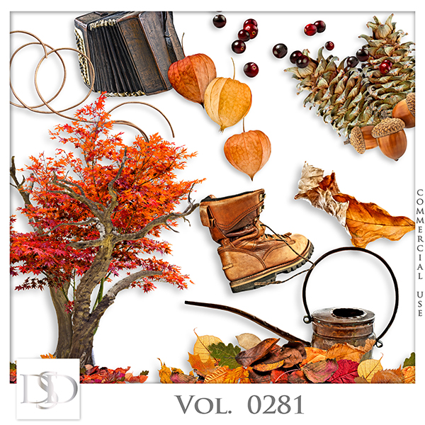 Vol. 0281 Autumn Mix by D's Design