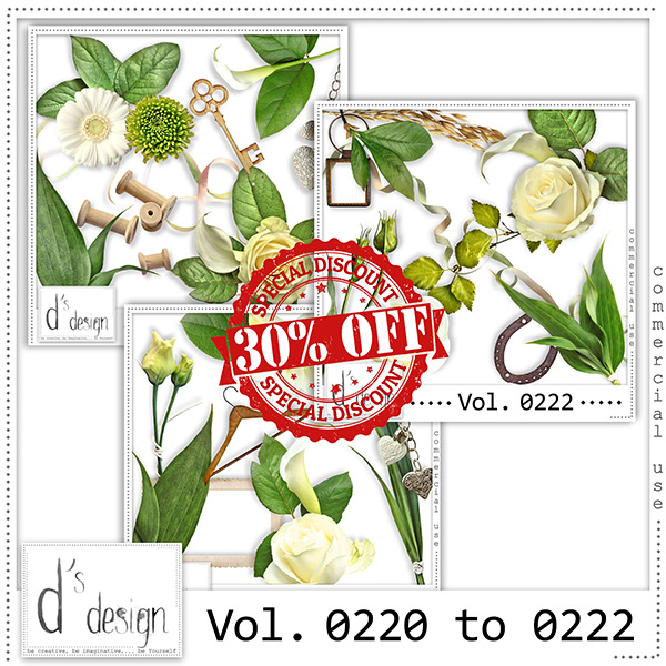 Vol. 0220 to 0222 Nature Mix by Doudou Design