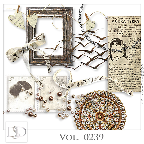 Vol. 0239 Vintage Mix by Doudou Design