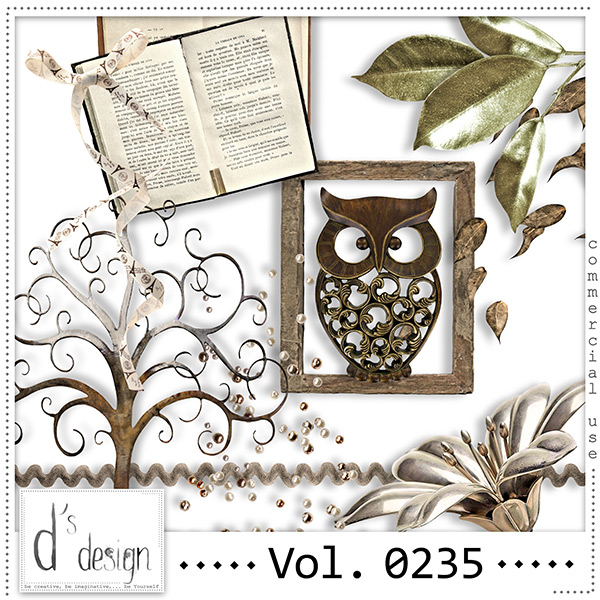 Vol. 0235 Vintage Mix by Doudou Design