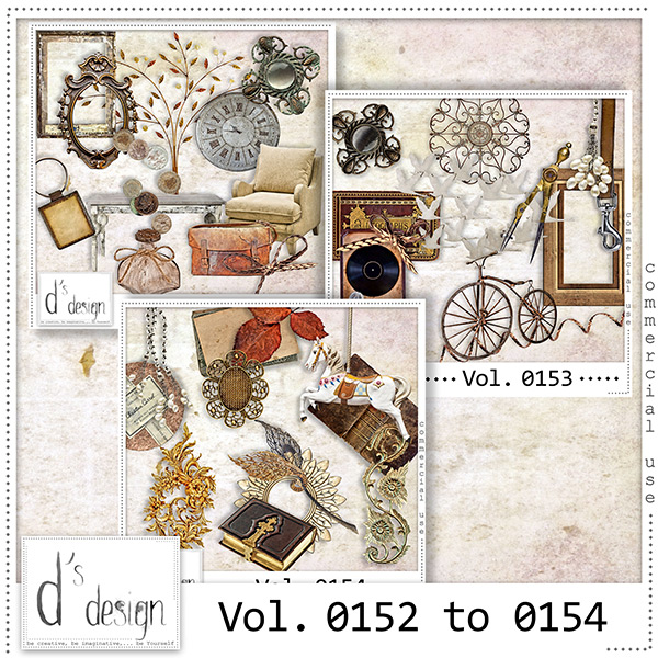 Vol. 0152 to 0154 Vintage Mix by Doudou Design