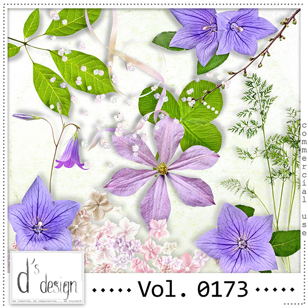 Vol. 0173 - Spring Nature Mix by Doudou's Design