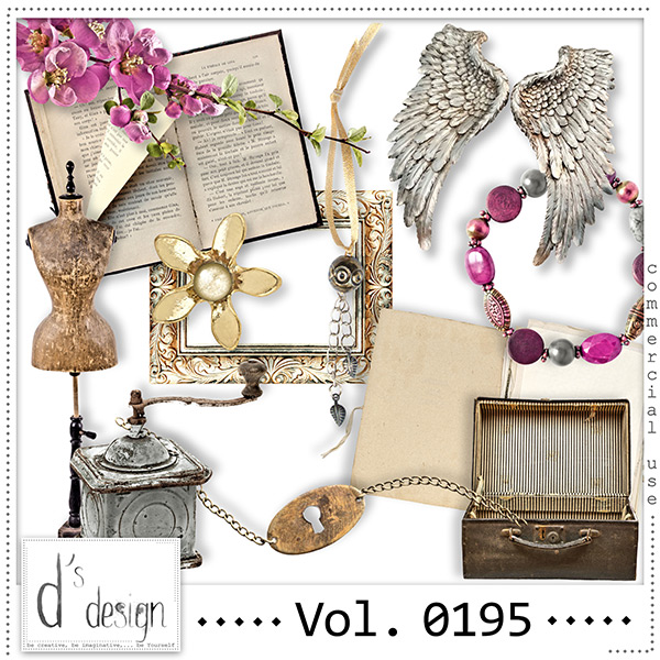Vol. 0195 Vintage Mix by Doudou Design