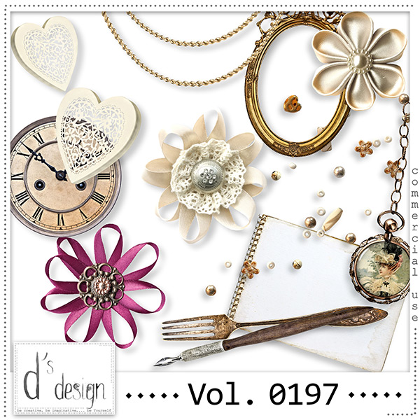 Vol. 0197 Vintage Mix by Doudou Design