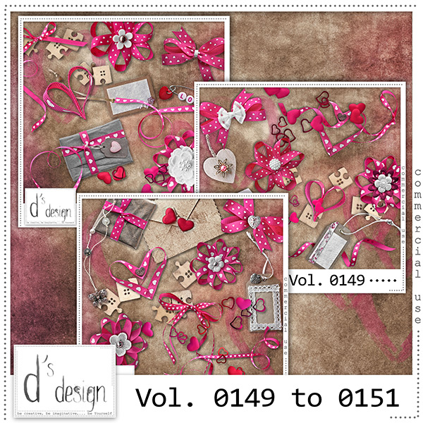 Vol. 0149 to 0151 Love Mix by Doudou Design