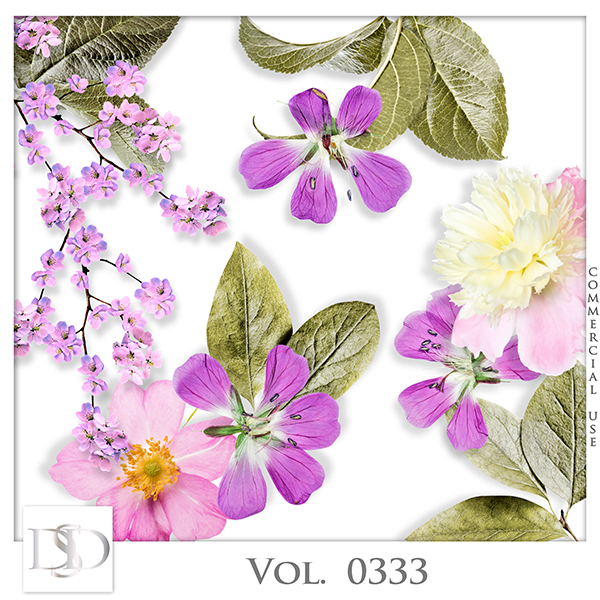 Vol. 0333 Spring Nature Mix by D's Design
