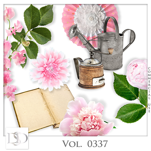 Vol. 0337 Spring Nature Mix by D's Design