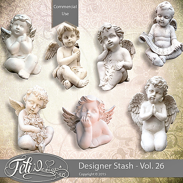 Designer Stash Vol 26 - CU by Feli Designs