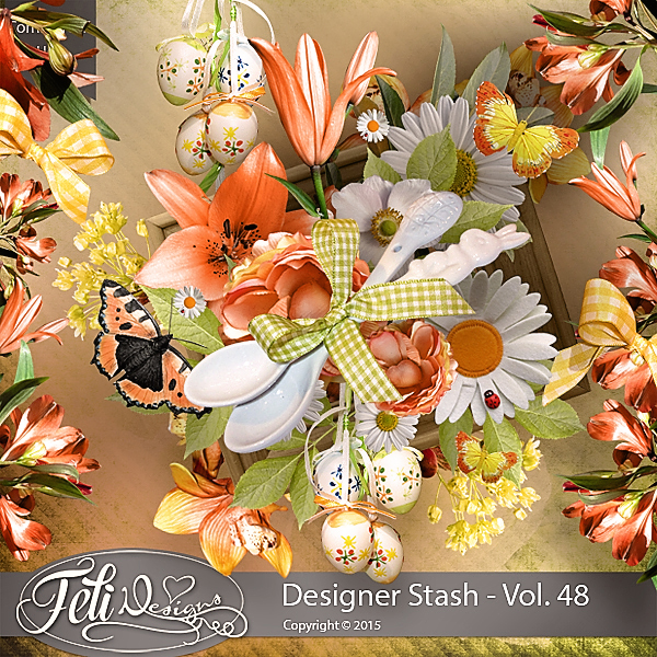 Designer Stash Vol. 48 - CU by Feli Designs