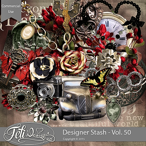 Designer Stash Vol 50 - CU by Feli Designs