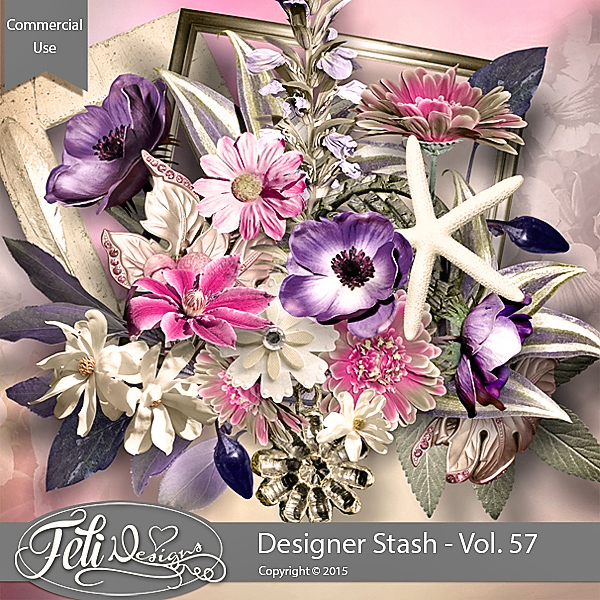 Designer Stash Vol. 57 - CU by Feli Designs