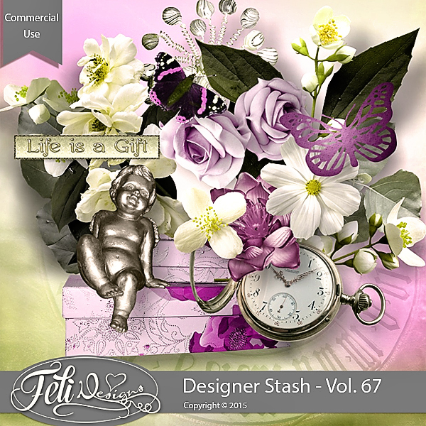 Designer Stash Vol. 67 - CU by Feli Designs