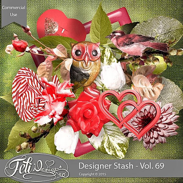 Designer Stash Vol. 69 - CU by Feli Designs