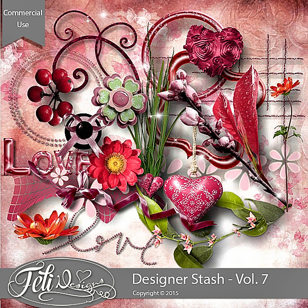 Designer Stash Vol 7 - CU by Feli Designs
