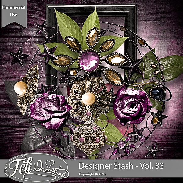 Designer Stash Vol 83 - CU by Feli Designs