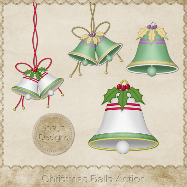 Christmas Bells Photoshop Action by Josy