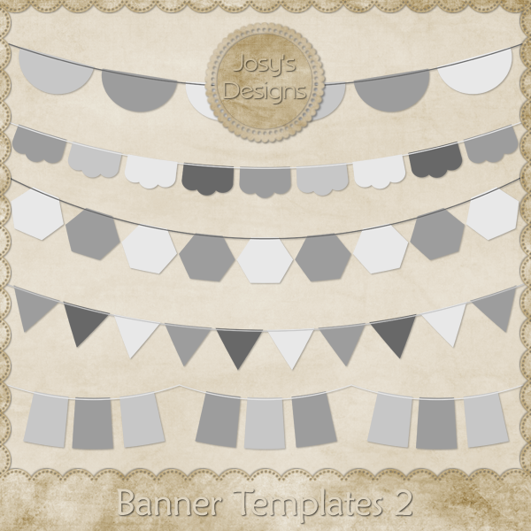 Banner Layered Templates 2 by Josy