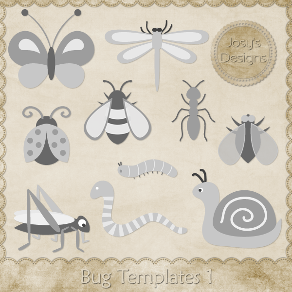 Bug Layered Templates by Josy