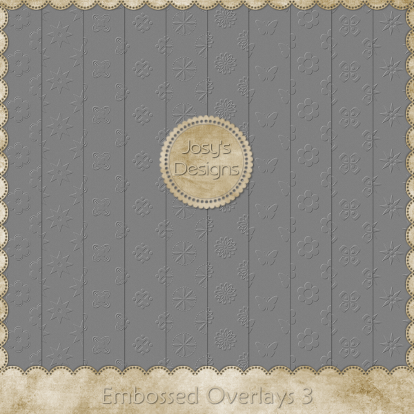 Embossed Overlays 3 by Josy