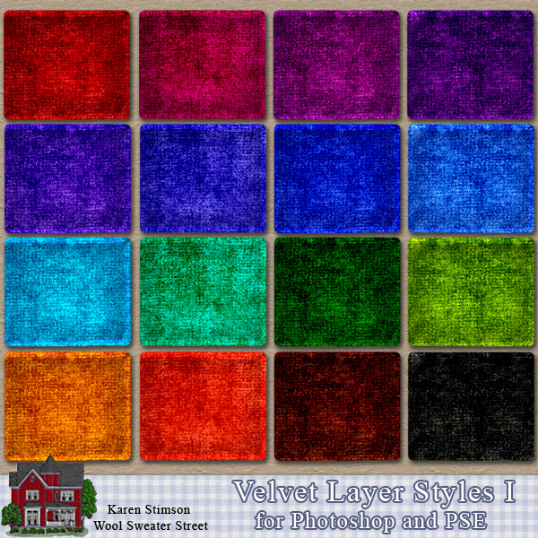 Velvet Layer Styles I by Karen Stimson