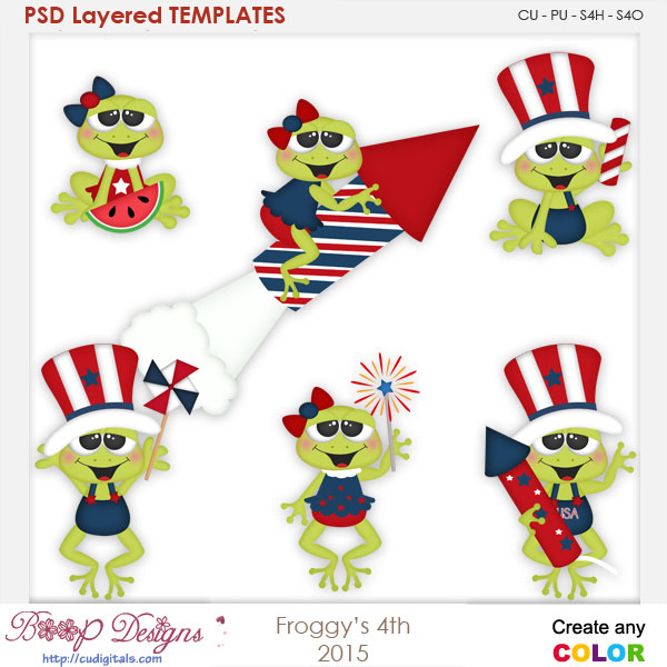 Froggy's 4th Layered Element Templates