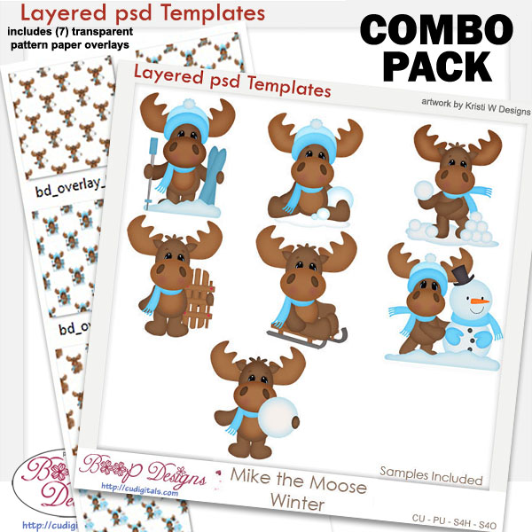 Mike Winter Layered Template COMBO Set