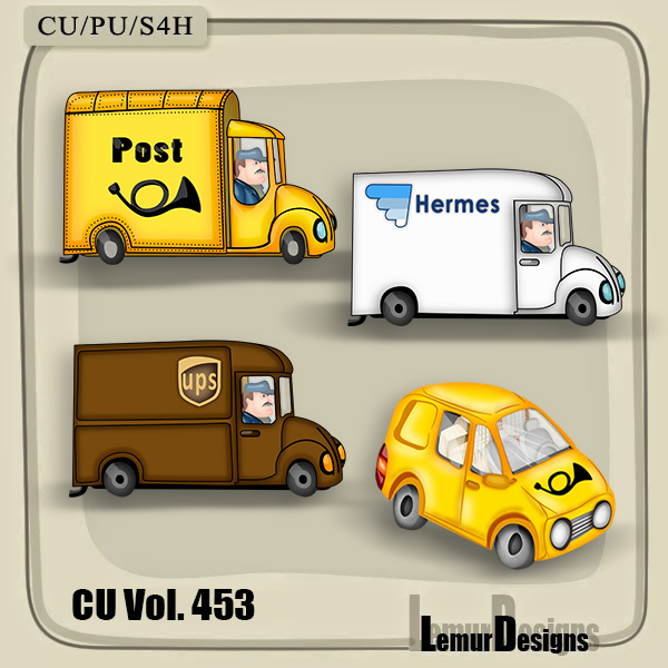 CU Vol 453 Mail Post Delivery by Lemur Designs