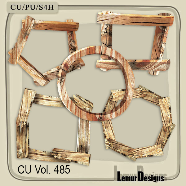 CU Vol 485 Frames by Lemur Designs
