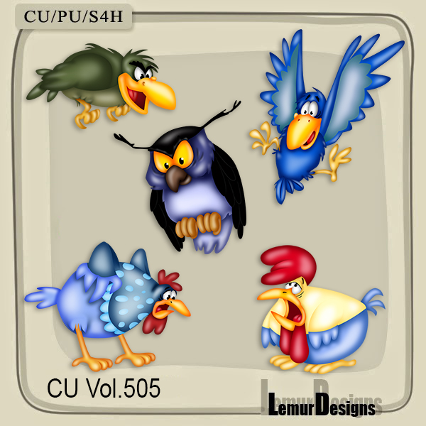 CU Vol 505 Birds by Lemur Designs