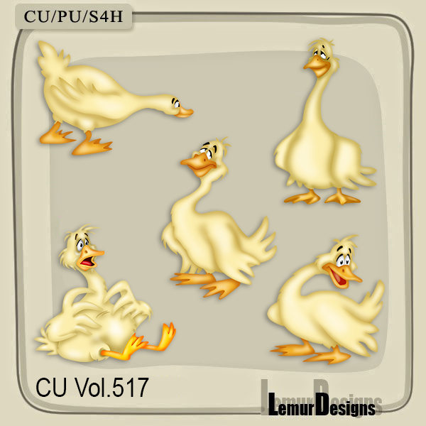 CU Vol 517 Geese by Lemur Designs
