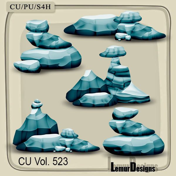 CU Vol 523 Stone Reef by Lemur Designs
