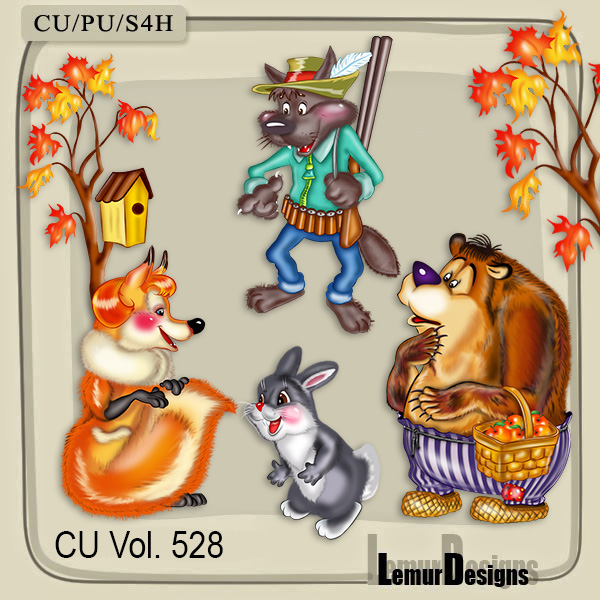 CU Vol 528 Animals