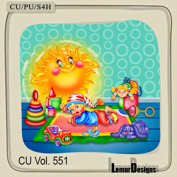 CU Vol 551 Childrens Room by Lemur Designs