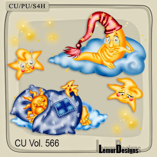 CU Vol 566 Sweet Dreams by Lemur Designs