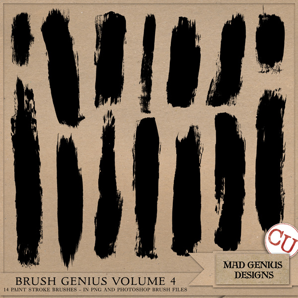 Brush Genius Volume Four by Mad Genius Designs