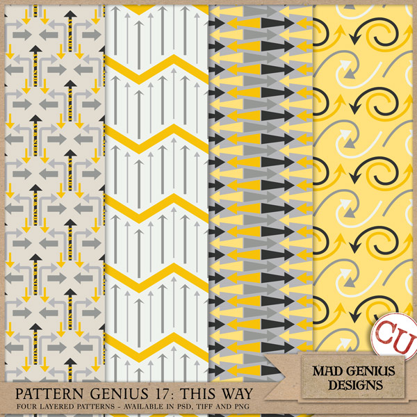 Pattern Genius Paper Volume Seventeen by Mad Genius Designs