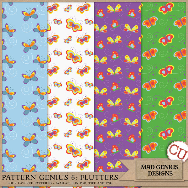 Pattern Genius Paper Volume Six by Mad Genius Designs
