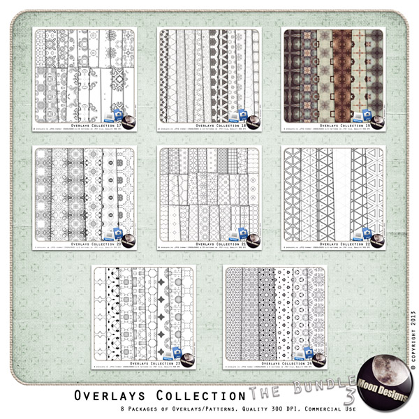 Overlays Collection the Bundle 3 by MoonDesigns