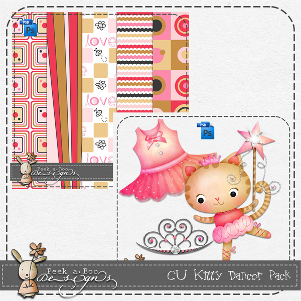 Kitty Pack Layered Template by Peek a Boo Designs