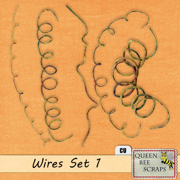 Decorative Wires Set 1