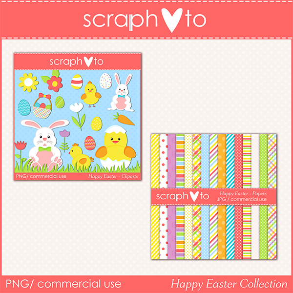 Happy Easter Collection by Scraphoto Studio
