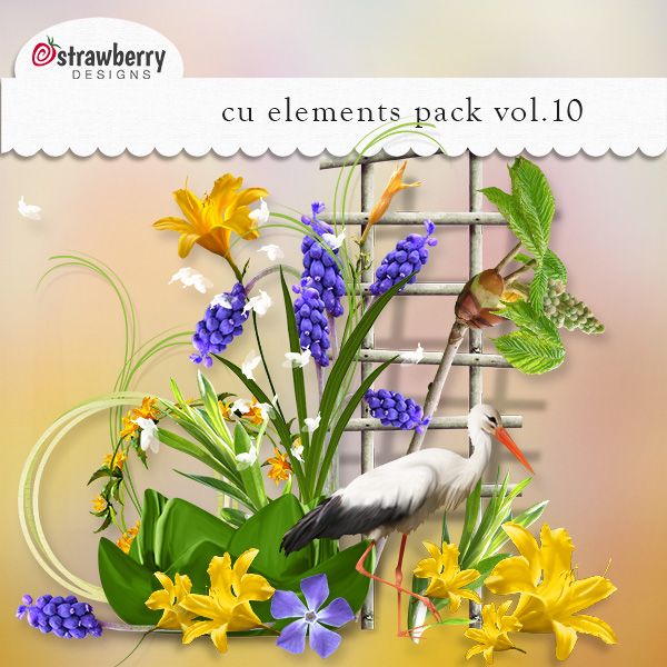 Element Mix Vol 10 by Strawberry Designs